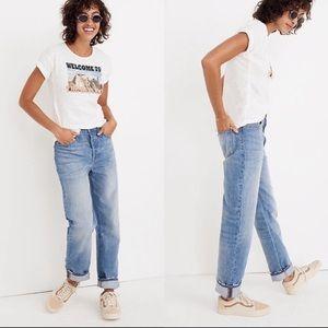 MADEWELL Dad Jeans Worn Twice Size 25